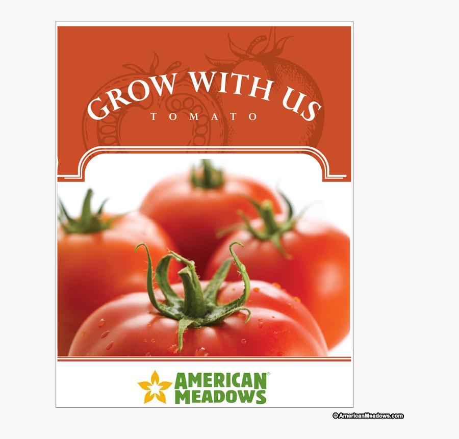 Transparent Vintage Seed Packets Clipart - Plum Tomato, Transparent Clipart