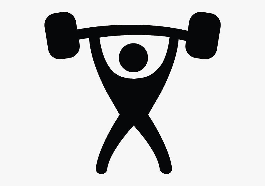 Personal Training Icon, Transparent Clipart