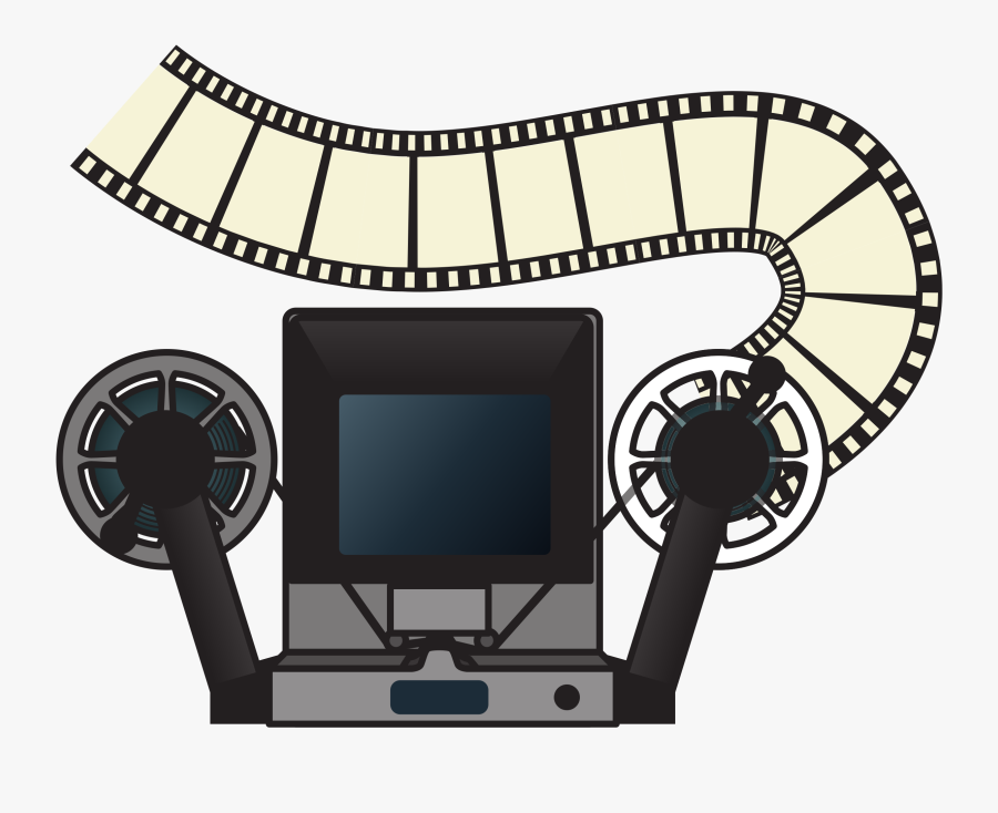 This Free Icons Png Design Of Analog Film Editing Machine - Movie Editing Clip Art, Transparent Clipart