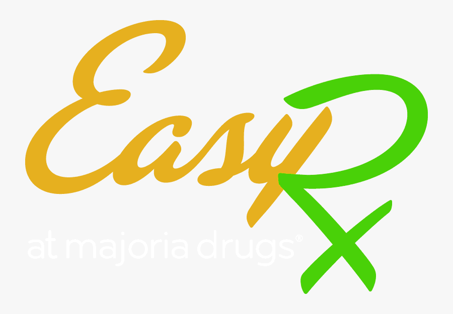 Easy Rx - Calligraphy, Transparent Clipart
