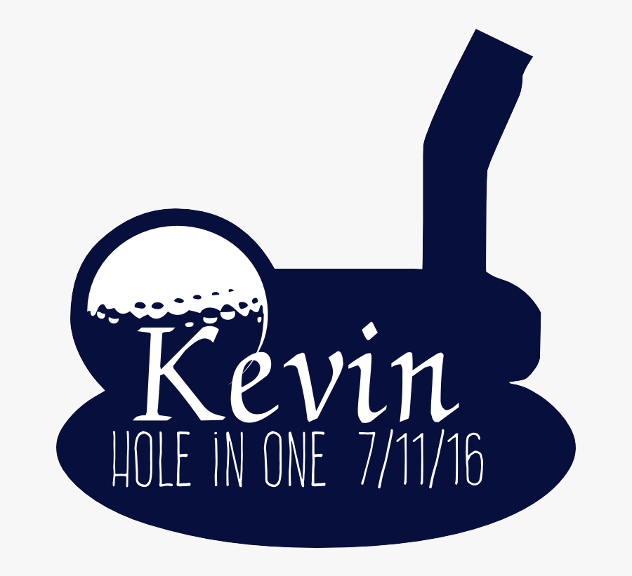 Hole In One Decal, Transparent Clipart