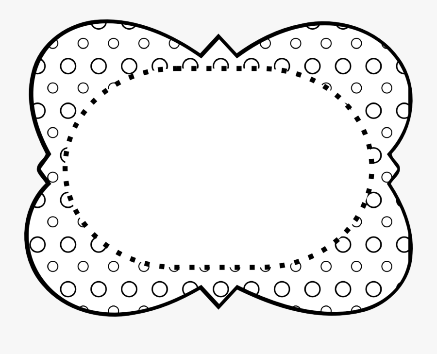 Transparent Border Design Black And White Png - School Black And White Clipart Frames, Transparent Clipart