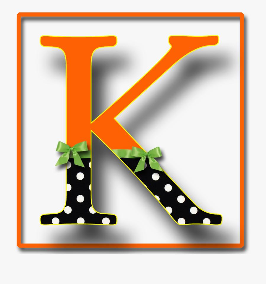María José Argüeso Letter K, Clip Art, Fonts, Printables, - Alphabet Font Halloween Clipart, Transparent Clipart