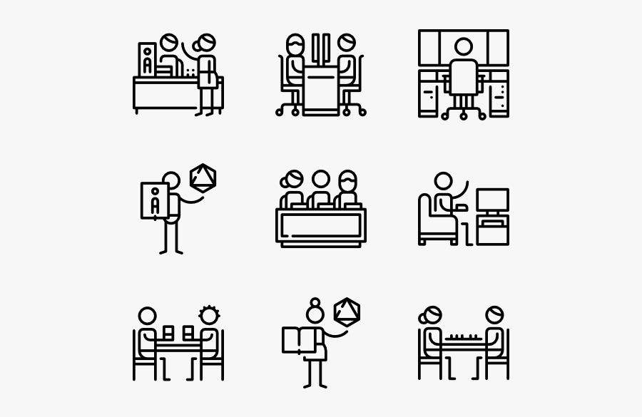 Gaming - Web Hosting Icons, Transparent Clipart