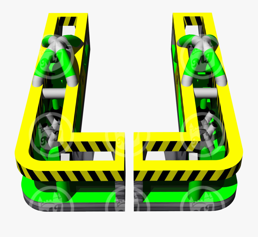 Dual Lane Obstacle Course - Graphic Design, Transparent Clipart