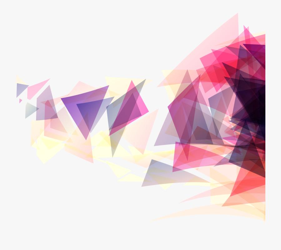 Clip Art Geometry Background - Geometric Vector Transparent Background, Transparent Clipart