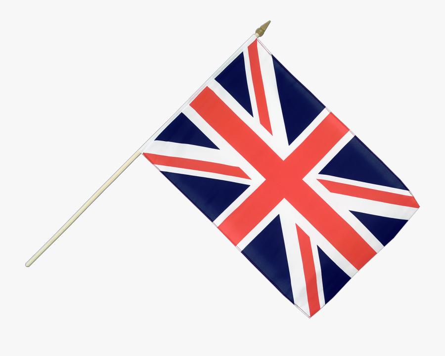 Transparent Rebel Flag Clipart - Union Jack Flag Transparent On A Stick, Transparent Clipart