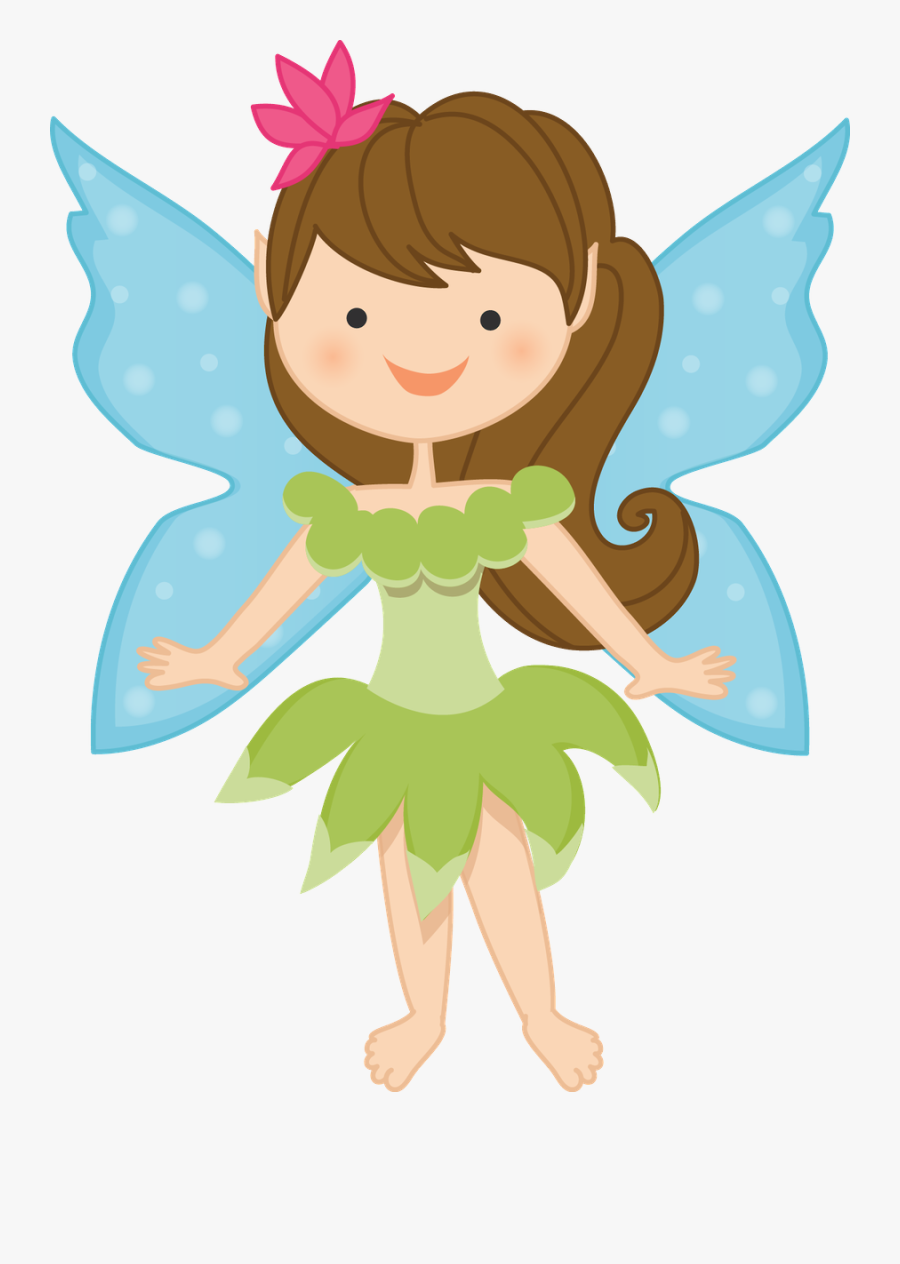 Fairy Themed Birthday Party Invitations, Transparent Clipart