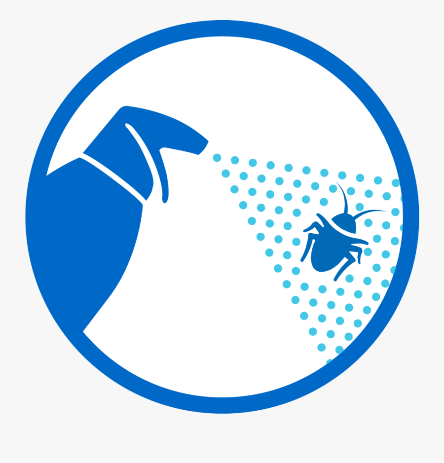 Spray Clipart Insect Killer - Emblem, Transparent Clipart