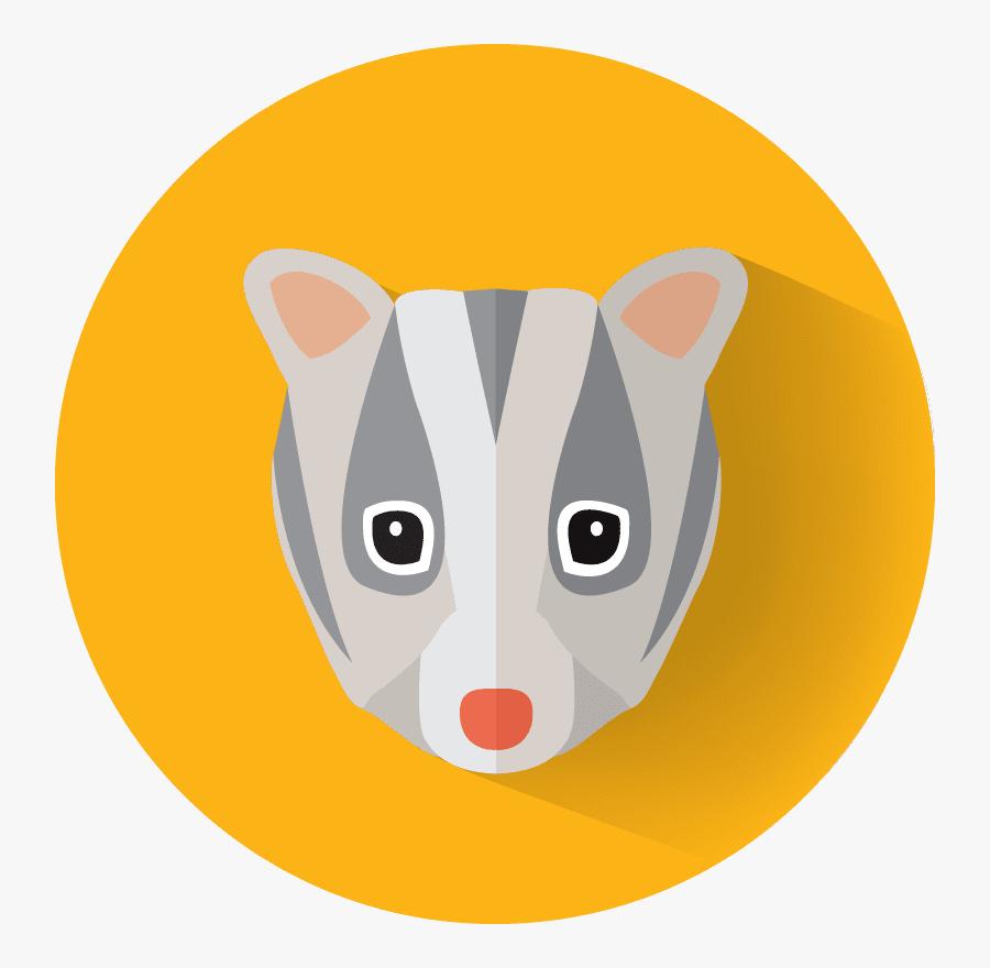 Leadbeaters-possum - Domestic Short-haired Cat, Transparent Clipart