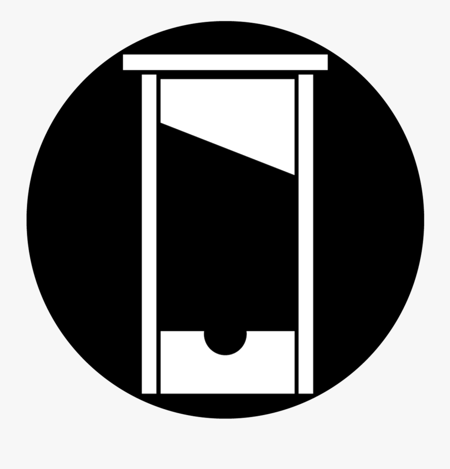 Guillotine Gobo, Transparent Clipart