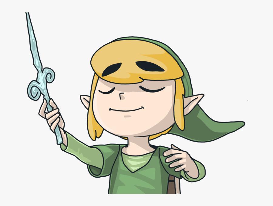 The Windwaker Comic Drawing Fantasy Character Illustration - Cartoon, Transparent Clipart