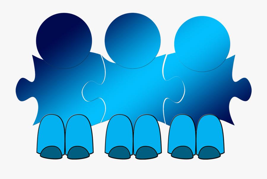 Team Businessmen Cooperation Free Picture - Samarbete Png, Transparent Clipart