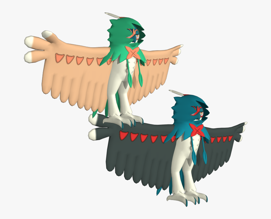 Download Zip Archive - Decidueye 3d Png, Transparent Clipart