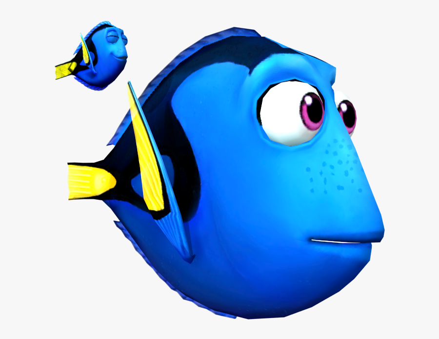 Transparent Finding Nemo Characters Png - Dory's Reef Game, Transparent Clipart
