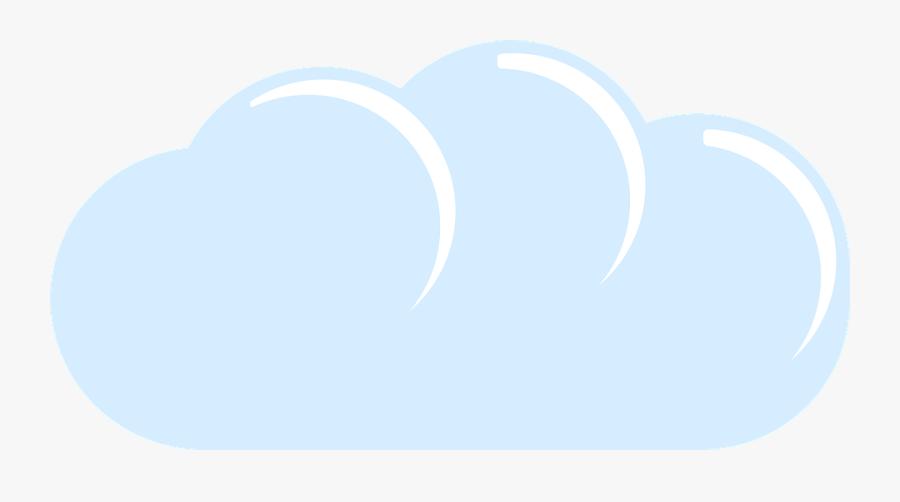 Cloud, Blue, Sky, Sky Clouds, Fluffy, White - Heart, Transparent Clipart