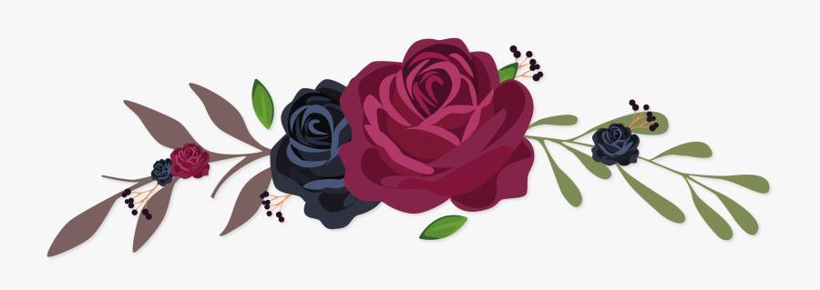 Garden Tea Rose,flowering Plant,botany,rose � Centifolia,clip - Vector Clipart Flower Png, Transparent Clipart