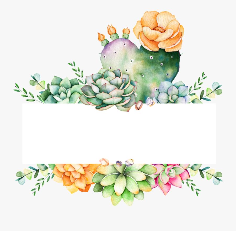 Transparent Succulents Png - Succulent And Cactus Logo, Transparent Clipart