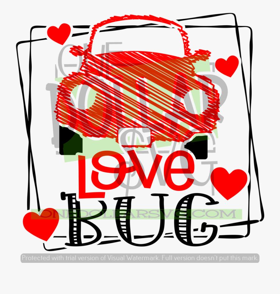 Love Bug Clip Art, Transparent Clipart