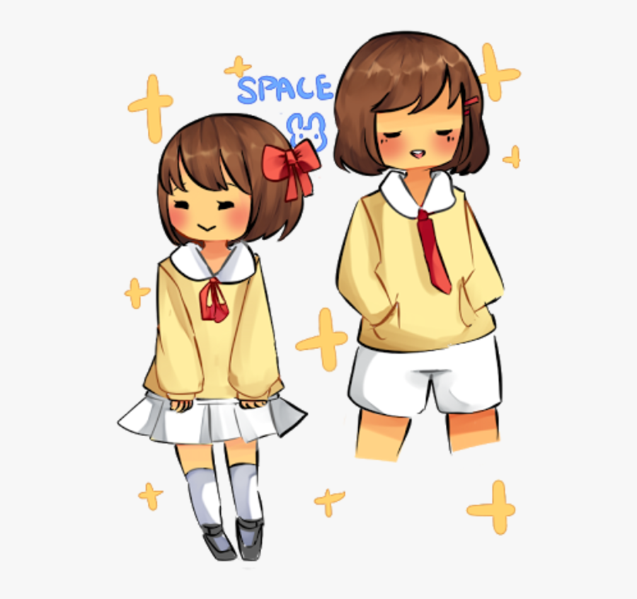 Pale 1 Undertale Clothing Child Yellow Facial Expression - Frisk Is A Boy Or A Girl, Transparent Clipart