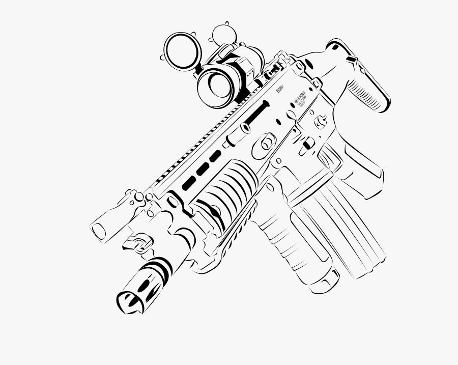 Gun Barrel, Transparent Clipart