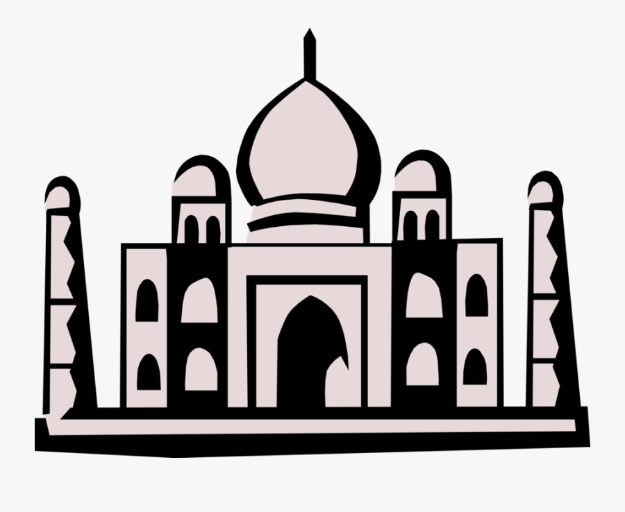 Taj Mahal Mausoleum, Agra, India - Taj Mahal, Transparent Clipart