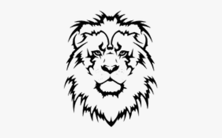 Puma Logo Clipart Tetu - Tribal Lion Tattoo Design, Transparent Clipart