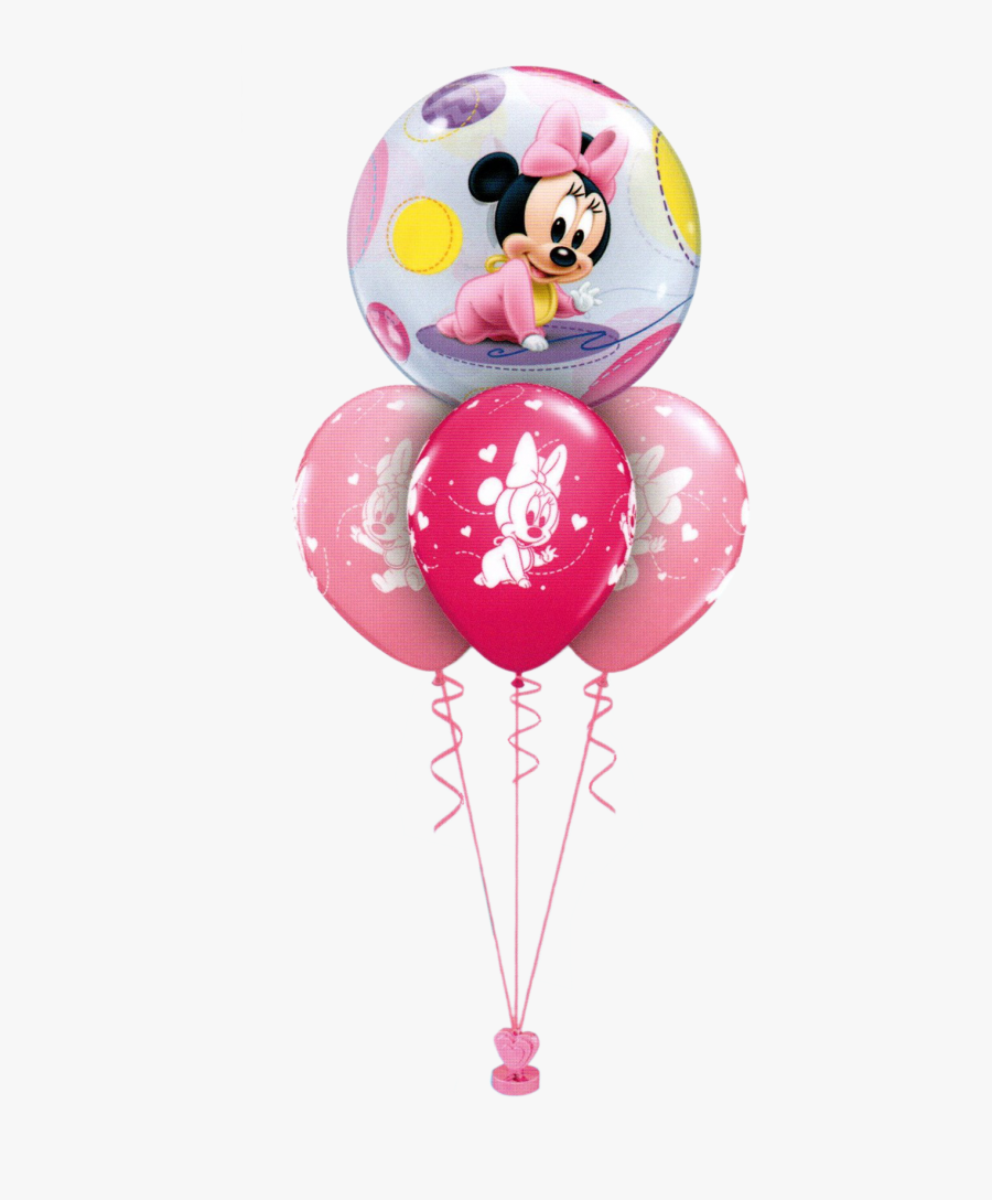 Minnie Mouse 1at Birthday Pmg, Transparent Clipart