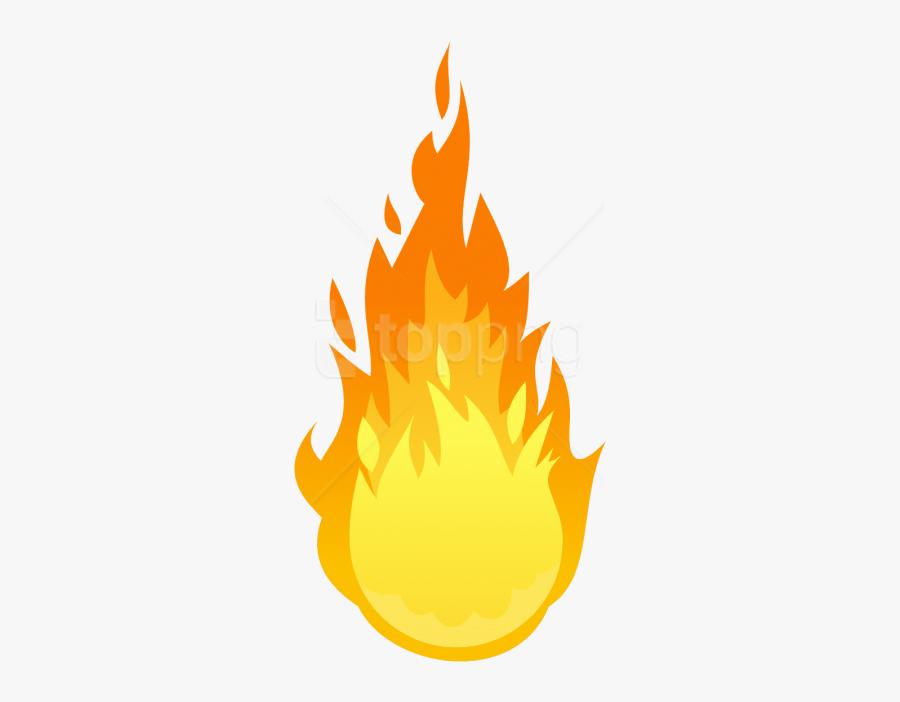 Fire Clip Art Png - Flame Transparent Background, Transparent Clipart