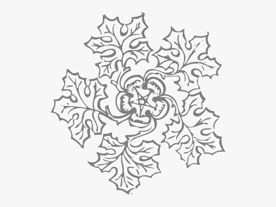 Flower Mandala Beginner Coloring Pages, Transparent Clipart