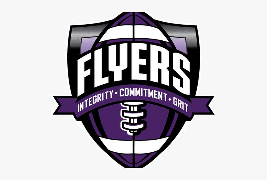 Little Falls Flyers Football, Transparent Clipart