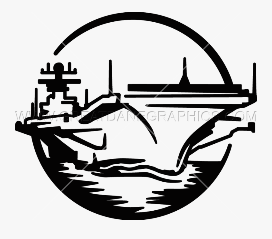 Free Aircraft Carrier Clipart Drawing, Download Free - Aircraft Carrier Line Art, Transparent Clipart