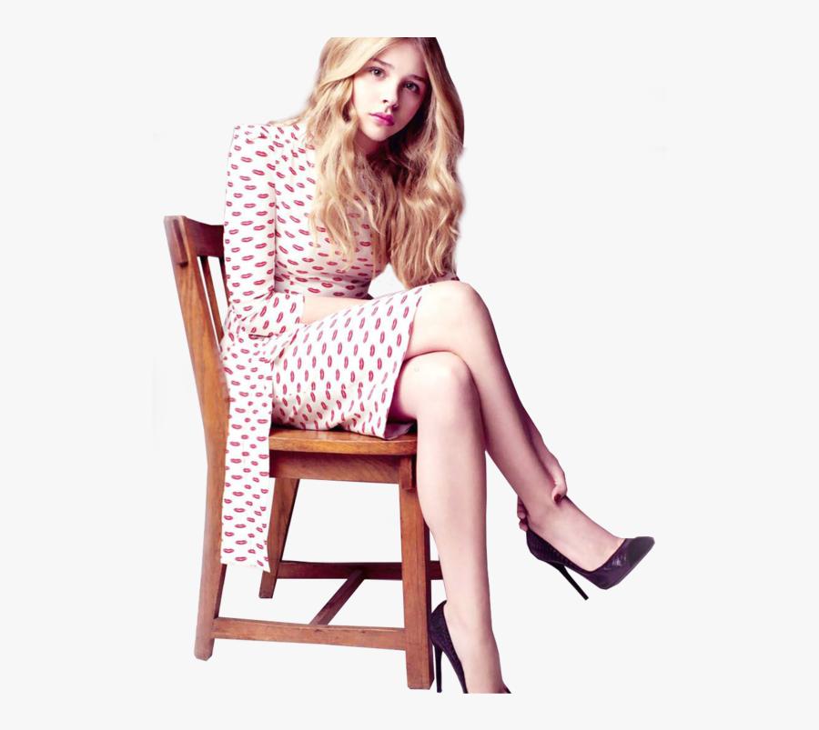 Chloe Grace Moretz Png By Ass - Chloe Grace Moretz Posing, Transparent Clipart