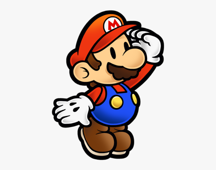 Download Zip Archive - Paper Mario Smash Trophy, Transparent Clipart