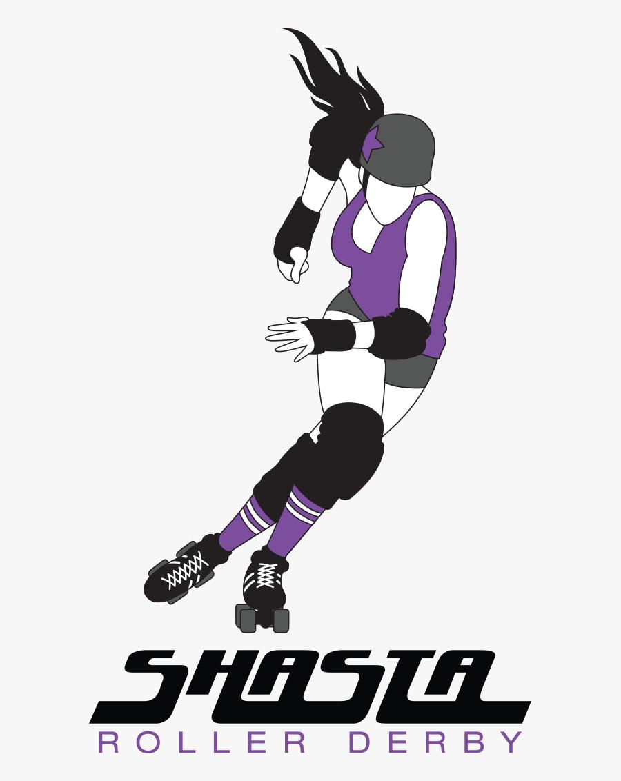 Shasta Derby - Shasta Roller Derby, Transparent Clipart