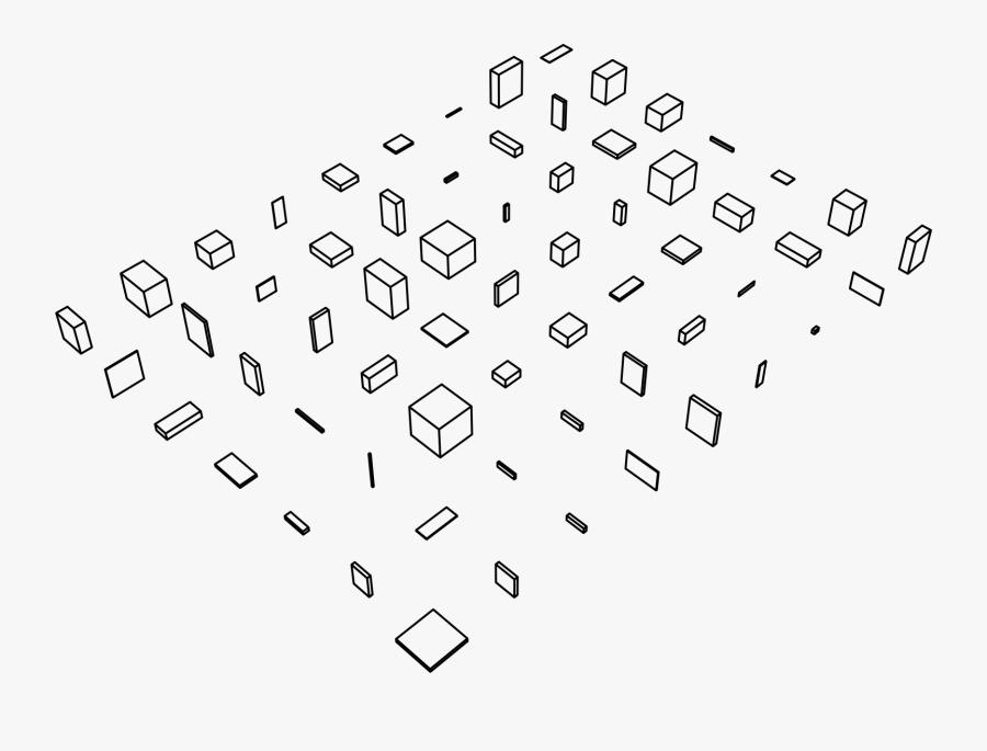 Randomzied 3d Box Shapes Clip Arts - Icon, Transparent Clipart