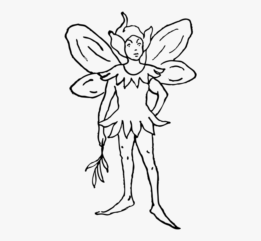 Art,symmetry,monochrome Photography - Fairy Clip Art, Transparent Clipart