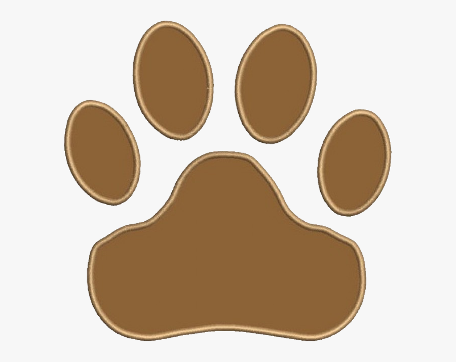 """Wouldn""""t This Cute Dog Paw Look Excellent Embroidered - Animal Rights Yin Yang, Transparent Clipart"""