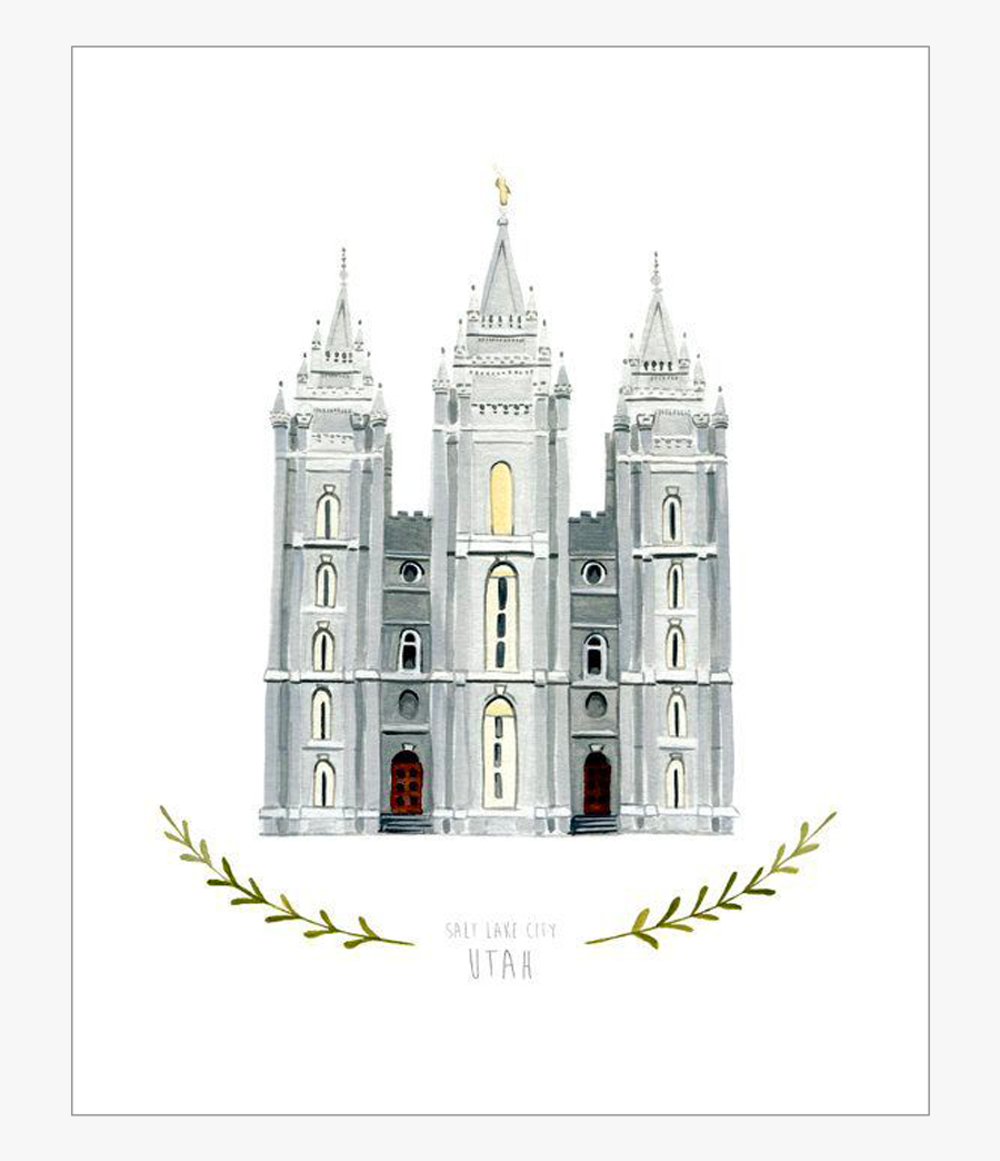 Salt Lake Temple Clip Art