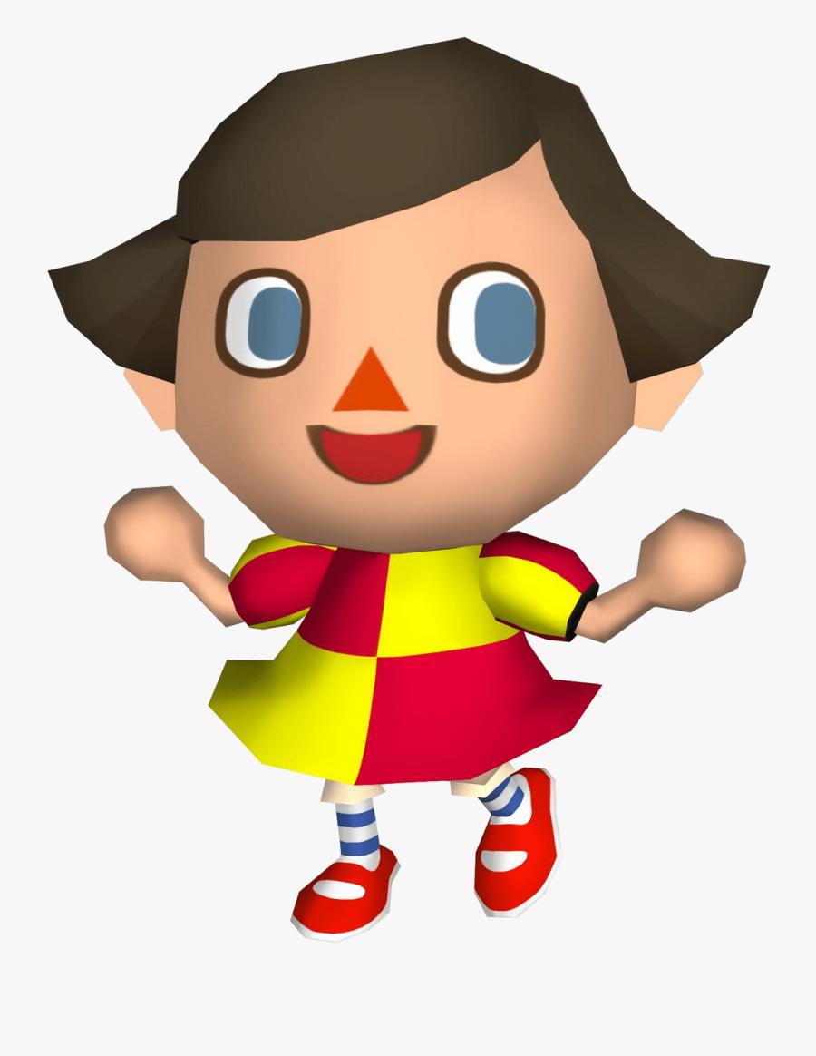 Inspiring Player Animal Crossing Wiki Fandom Powered - Animal Crossing City Folk Girl, Transparent Clipart