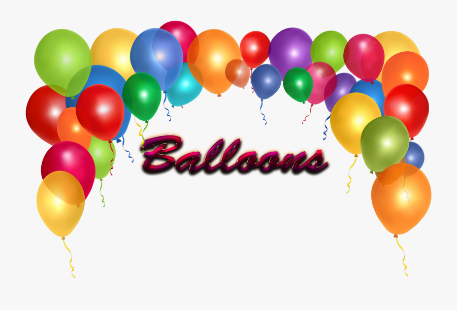 Portable Network Graphics Balloon Transparency Clip - Transparent Background Birthday Balloons Png, Transparent Clipart