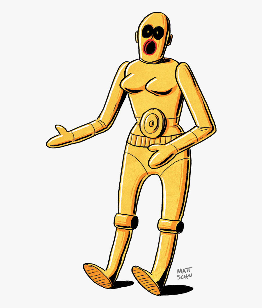 Animated Star Wars Characters, Transparent Clipart