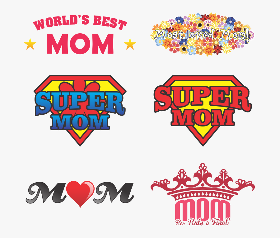 """Mother Vector Mother""""s Day - Designs For Mother's Day, Transparent Clipart"""