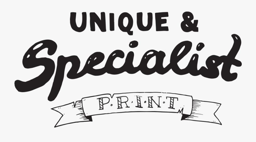 Unique & Specialist Graphics - Calligraphy, Transparent Clipart
