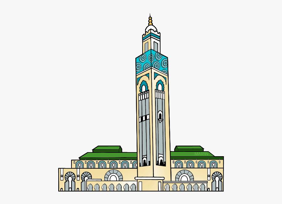 Hassan Ii Mosque - Hassan 2 Mosque Png, Transparent Clipart