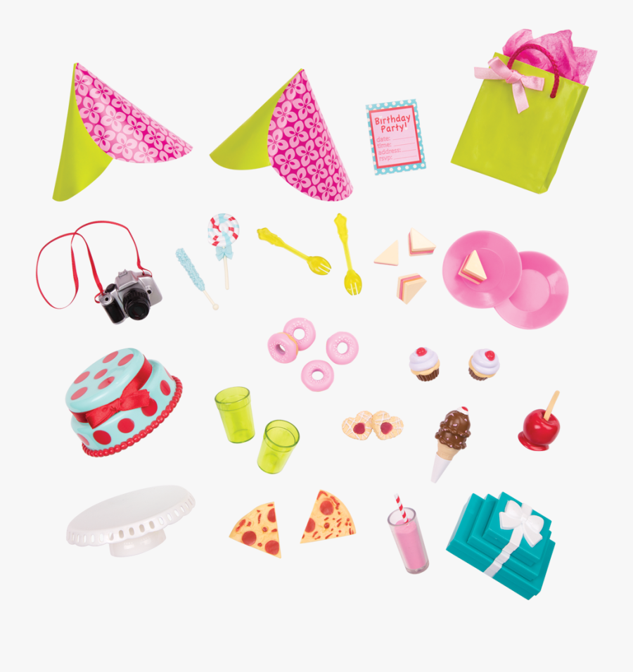 Rsbme Party Planning Set - Plan A Party Set Our Generation, Transparent Clipart