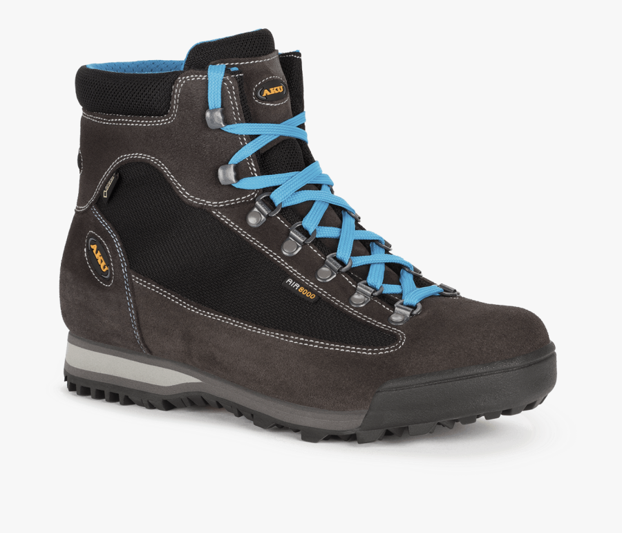 Slope Micro Gtx Black-turquoise - Aku 8000 Air, Transparent Clipart