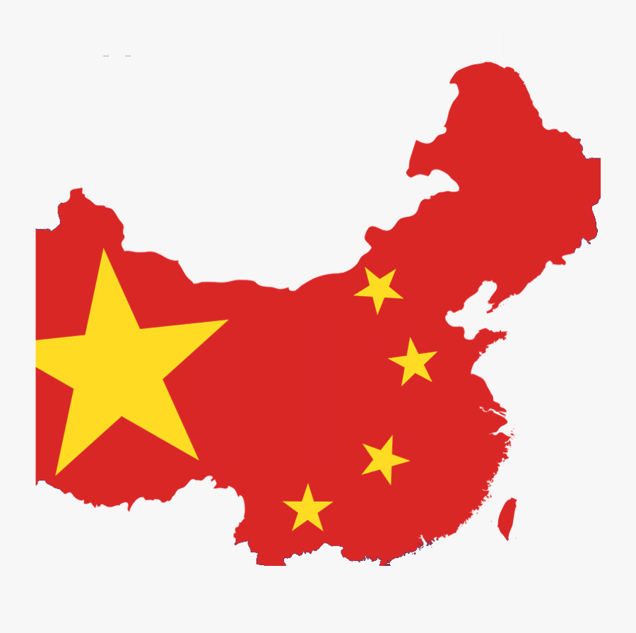 Communist Party Of China Map, Transparent Clipart