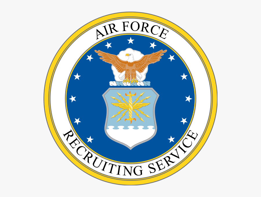 United States Clipart Air Force - Air Force Recruiting Logo, Transparent Clipart
