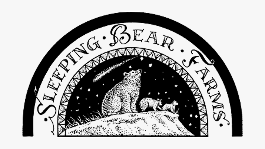 Sleeping Bear Farms Logo, Transparent Clipart